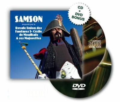 CD Samson édité en 2007 par la Fanfare de Moulbaix