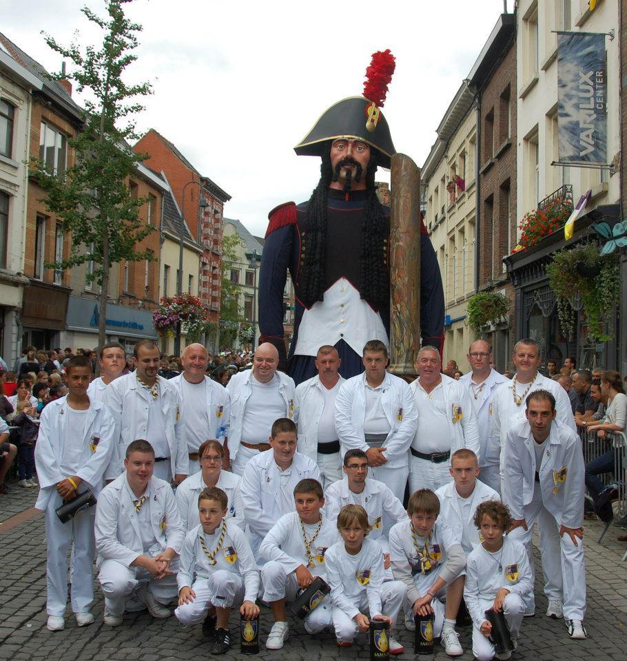 L'équipe Samson en août 2012